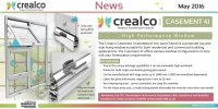 Crealco Skyline high performance window (41mm)